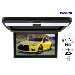 Monitor samochodowy podsufitowy 10 cali LED SD Super Slim dwa wejścia AV