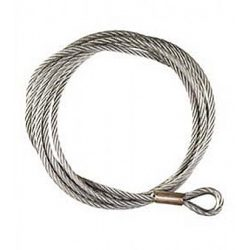Lina stalowa do wyciągarek eletktrycznych i ręcznych o grubości 9,5 mm i długości 24 m