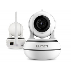 Kamera WiFi HD 960p niania elektroniczna Ilumen CAM-X3 monitoring głośnik mikrofon detekcja ruchu tryb nocny