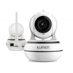 Kamera WiFi HD 960p niania elektroniczna Ilumen CAM-X3 monitoring głośnik mikrofon detekcja ruchu tryb