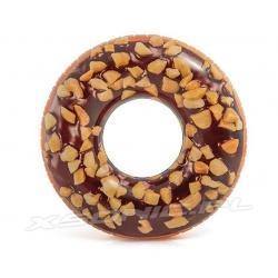 Duże dmuchane koło do pływania Donut pączek 114 cm INTEX 56262