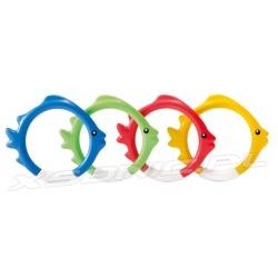 Zabawka do nurkowania kolorowe rybki opadające na dno Intex 55507