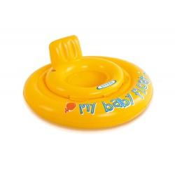 Koło i fotelik do nauki pływania średnica 70 cm dla małych dzieci INTEX 56585