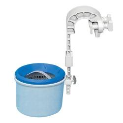 Powierzchniowy oczyszczacz wody skimmer i dozownik tabletek do basenów ogrodowych