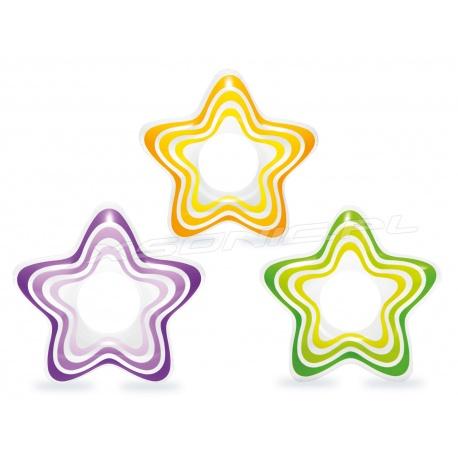 Koło do pływania dla dzieci gwiazda 74 x 71 cm INTEX 59243