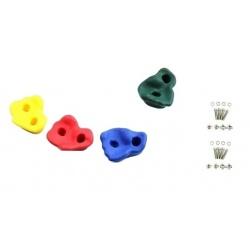 Kamienie do wspinaczki zestaw 4 sztuk idealne na plac zabaw