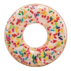 Duże dmuchane koło do pływania Donut pączek 114 cm INTEX 56263
