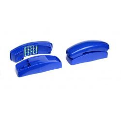 Telefon plastikowy zewnętrzny na plac zabaw wydający dźwięki bez użycia baterii 4 kolory dla dzieci