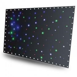Kotara świetlna tło BeamZ SparkleWall LED96 złącze DMX torba transportowa