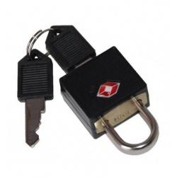 Markowa i solidna kłódka TSA do bagażu FABRIZIO dwa kluczyki