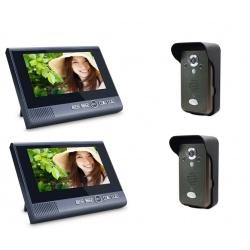 Wideodomofon bezprzewodowy z funkcją interkomu Reer Electronics wyświetlacz 7 cali czujnik ruchu