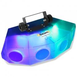Efekt świetlny Mini 4-Head Moon BeamZ przezroczysta obudowa