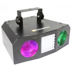 Efekt świetlny BeamZ Uranus LED oświetlenie dyskotekowe Moon stroboskop