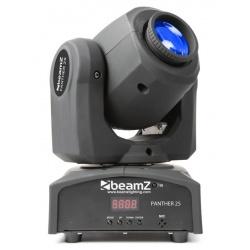 Ruchoma głowa BeamZ Panther 25 LED efekt mieszania gobo wbudowane pokazy
