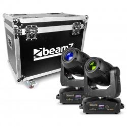 Zestaw 2 x głowa ruchoma LED BeamZ IGNITE180 plus walizka oświetlenie sceny