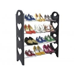 Modułowy stojak na buty plastikowy półka organizer na 12 par obuwia