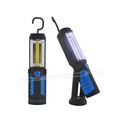 Lampa warsztatowa COB latarka pasek LED magnes hak stojąca wisząca