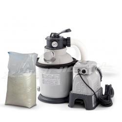 Pompa piaskowa do basenów ogrodowych 4542L/h + piasek 25 kg INTEX 28644