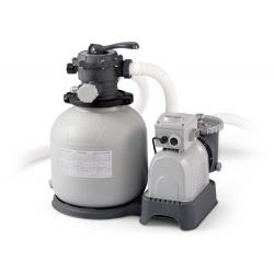 Pompa piaskowa do filtrowania wody wydajność 10500 l/h INTEX z piaskiem 50kg 28648