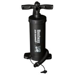 Pompka tłokowa marki Bestway pojemność 1300 cm3 pompuje w obie strony Air Hammer 62086