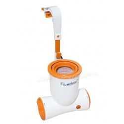 Pompa filtrująca oraz skimer 2w1 Skimatic 2574l/h Bestway 58462
