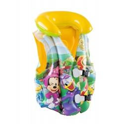 Kamizelka do nauki pływania Myszka Mickey Bestway 91030 dla dzieci zapinana