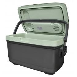 Samochodowa lodówka turystyczna 45L grzanie i chłodzenie na kółkach 12V/230V