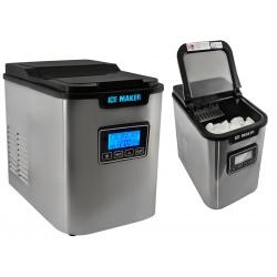 Profesjonalna domowa kostkarka do robienia lodu automatyczna maszyna do lodów