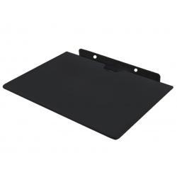 Półka ścienna RTV na konsolę XBOX DVD dekoder 10kg z czarnego szkła