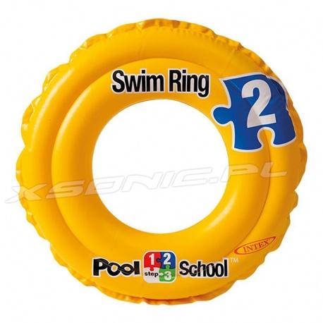 Kółko dmuchane dla dzieci ABC do nauki pływania o średnicy 51 cm INTEX 58231
