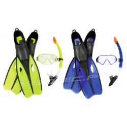Zestaw do nurkowania maska + rurka + płetwy rozmiar 40-42 Bestway 25022