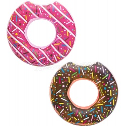 Duże dmuchane koło do pływania Donut pączek 107 cm Bestway 36118