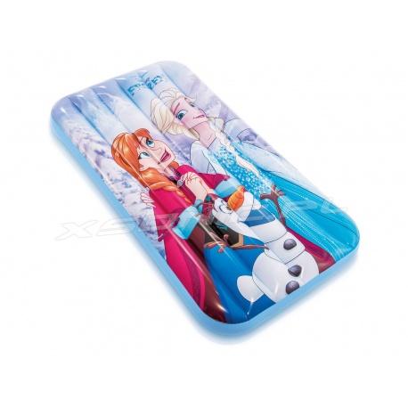 Dmuchany materac dziecięcy Frozen 157 x 88 x 18 cm Intex 48776 dla dzieci do pływania albo spania w pokoju