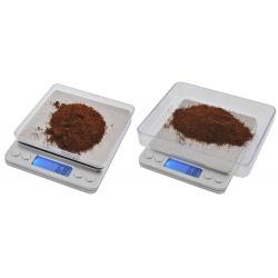 Waga gramowa precyzyjna jubilerska przenośna 2000g 2kg/0,1g