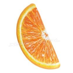 Dmuchany materac plażowy Pomarańcza plasterek 178 x 85 cm INTEX 58763