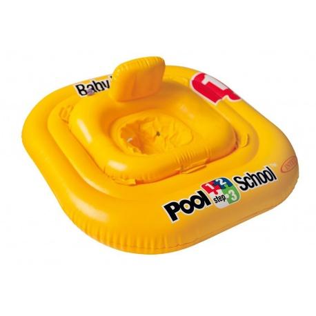 Koło i fotelik dla dzieci do nauki pływania 79 x 79 cm INTEX 56587