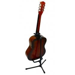 Statyw gitarowy stojak na gitarę z regulacją uchwyt na gryf do gitary