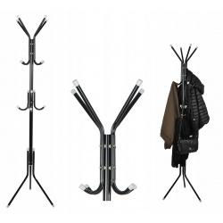 Wieszak stojący stojak podłogowy na ubrania kurtki 175cm