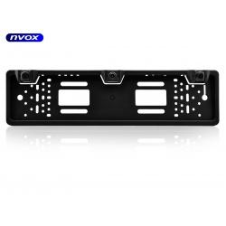 Uniwersalna ramka rejestracji z kamerą NVOX na tył pojazdu diody podczerwieni IR czujniki cofania buzzer