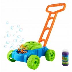 Kosiarka zabawka z bąbelkami na bańki + płyn do baniek na baterie
