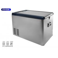 Samochodowa lodówka z zamrażarką NVOX o pojemności 25L sprężarkowa z kompresorem 12V 24V 230V