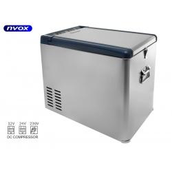 Samochodowa lodówka z zamrażarką NVOX o pojemności 35L sprężarkowa z kompresorem 12V 24V 230V