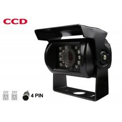 Kamera cofania NVOX 4PinQuad na naczepę i do różnych przyczep z daszkiem