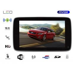 Monitor samochodowy zagłówkowy NVOX 10 cali dedykowany do VOLVO S90 V90 XC90 instalacja na pręty zagłówk tablet android