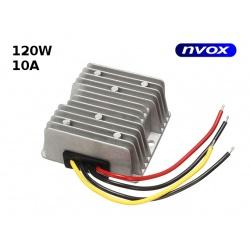 Redukcja napięcia NVOX z 24V na 12V 10A moc 120W