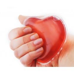 Rozgrzewające serduszko ogrzewacz do rąk dłoni na zimne ręce
