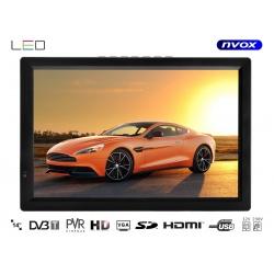 Telewizor przenośny NVOX 14 cali LED HD tuner DVB-T wejście HDMI VGA AV nagrywanie na pamięć USB