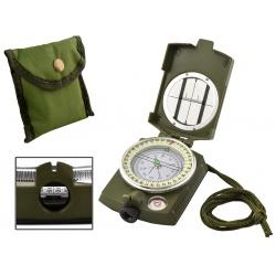 Profesjonalny kompas wojskowy busola turystyczna metalowa obudowa