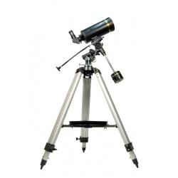 Teleskop katadioptryczny Levenhuk Skyline PRO 105 MAK aluminiowy statyw i stolik na akcesoria