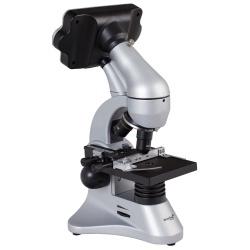 Biologiczny mikroskop cyfrowy Levenhuk D70L rewolwer z obiektywami